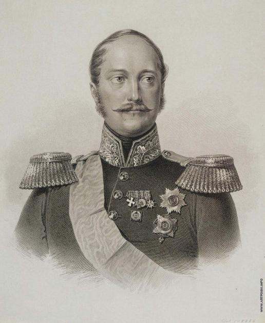 Афанасьев К. Я. Портрет императора Николая I