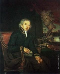 Яковлев И. Е. Портрет художника Д.Г. Левицкого