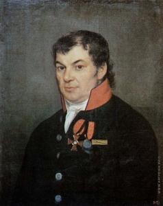 Яковлев И. Е. Портрет чиновника с орденом Владимира 4-й степени и медалью «За Отечественную войну 1812 года»