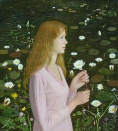 Федорова Т. С. Портрет с лилиями