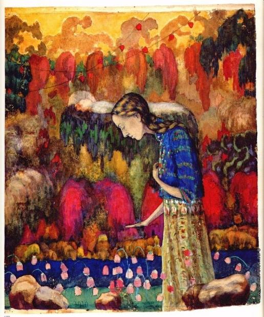Клюн И. В. Портрет жены художника