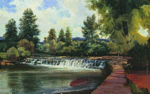 Боголюбов А. П. Киссинген. Водопад