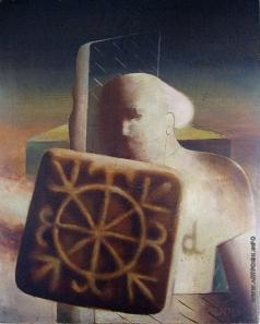Нагель Л. К. Портрет с печеньем (Слушатель печенья)