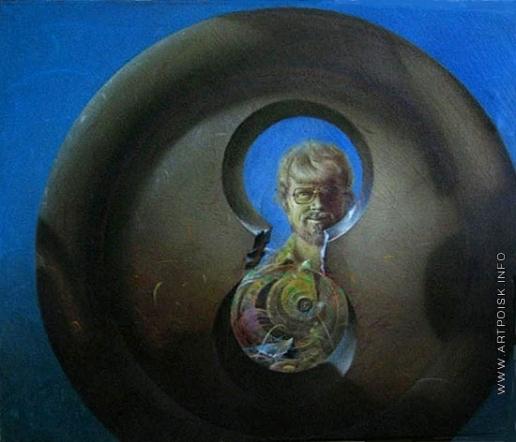 Нагель Л. К. Автопортрет через петлю
