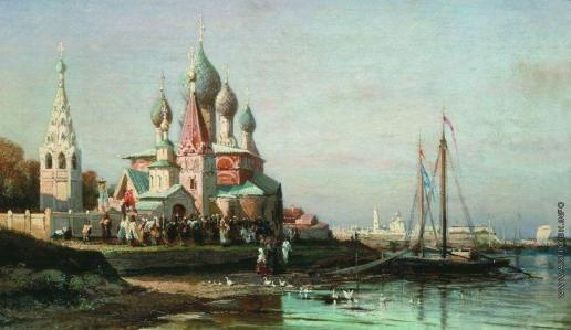Боголюбов А. П. Крестный ход в Ярославле