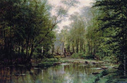 Боголюбов А. П. Лес в Вёле. Нормандия