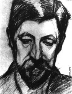Гуро Е. Г. Портрет М. В. Матюшина