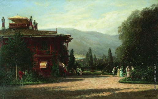 Боголюбов А. П. Ливадийский дворец
