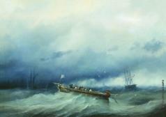 Боголюбов А. П. Лоцманы Бискайской бухты. 1857–