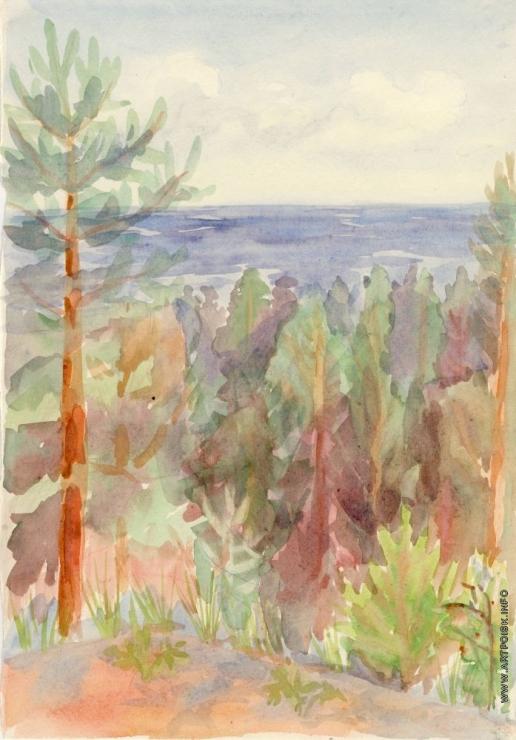 Стерлигов В. В. Верхушки деревьев
