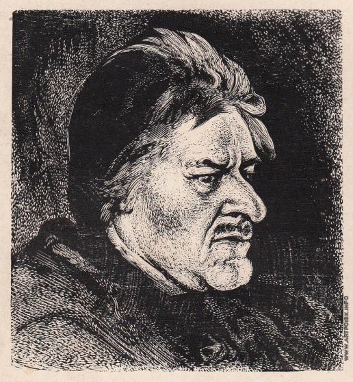 Маторин М. В. Меншиков. Иллюстрация для обложки
