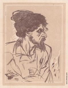 Маторин М. В. Иллюстрация для обложки книги «Суриков»