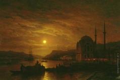 Боголюбов А. П. Лунный вечер в Константинополе