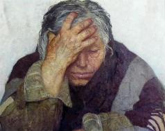 Коржев-Чувелев Г. М. Мать