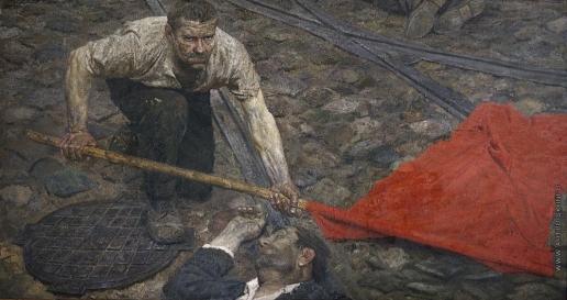 Коржев-Чувелев Г. М. Поднимающий знамя
