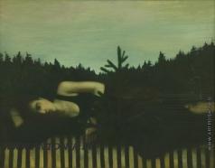 Лиела Д. А. Девушка с елочкой