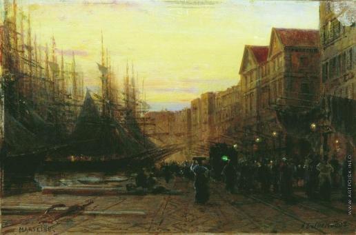 Боголюбов А. П. Марсельский порт