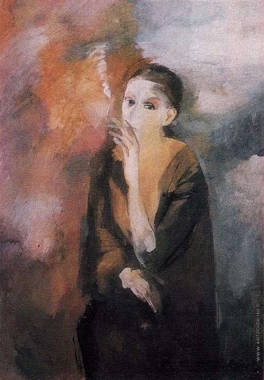 Мелдере А. А. Портрет женщины