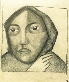 Малевич К. С. Молящаяся женщина