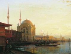 Боголюбов А. П. Мечеть в Константинополе