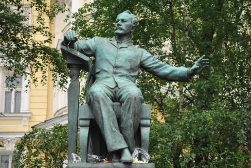 Мухина В. И. Памятник П.И. Чайковскому