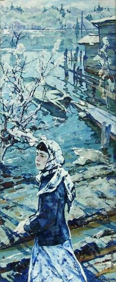 Кабачек Л. В. На реке на Снеже