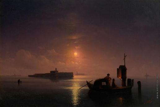 Айвазовский И. К. Венецианская лагуна ночью
