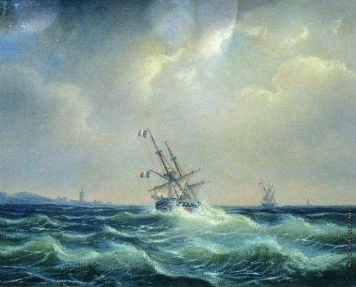 Боголюбов А. П. Море в непогоду