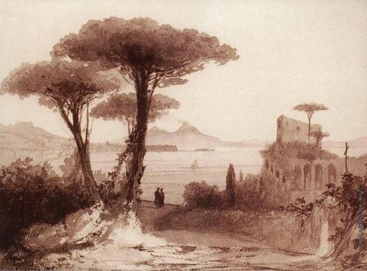 Айвазовский И. К. Вид на Везувий из Неаполя