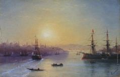 Айвазовский И. К. Вид Константинополя. Вторая половина ХIХ века
