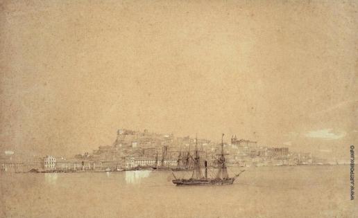 Айвазовский И. К. Вид Лиссабона