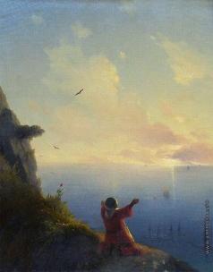 Айвазовский И. К. Встреча солнца. Море