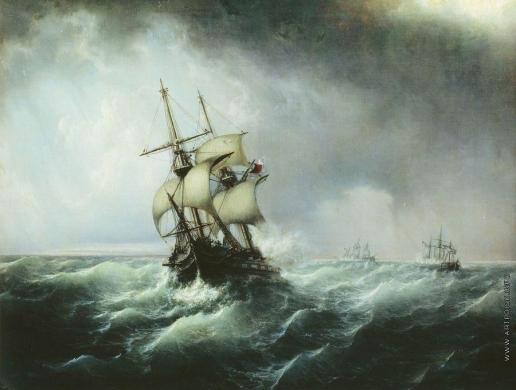 Боголюбов А. П. Морской бой