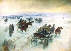 Греков М. Б. Бой при Егорлыкской