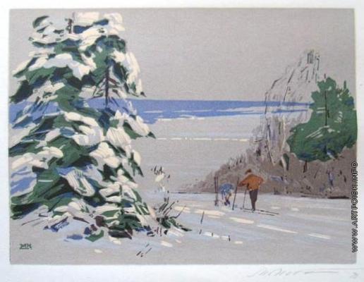 Маторин М. В. Голубые снега