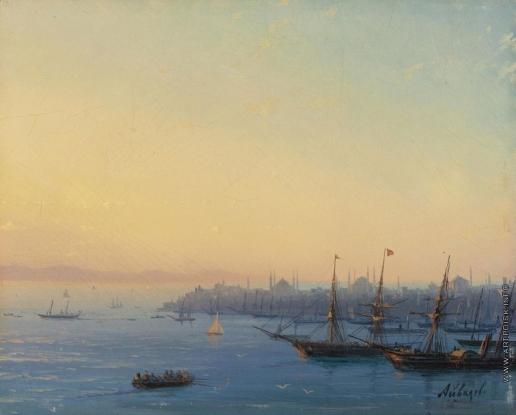 Айвазовский И. К. Закат над Константинополем