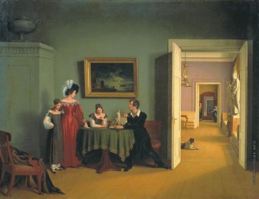 Толстой Ф. П. Семейный портрет