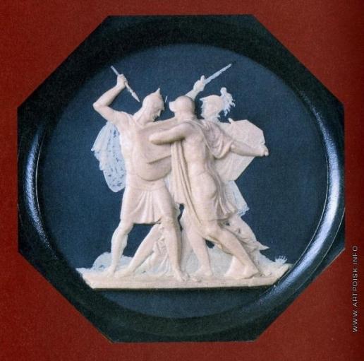 Толстой Ф. П. Битва Бородинская, 1812 год