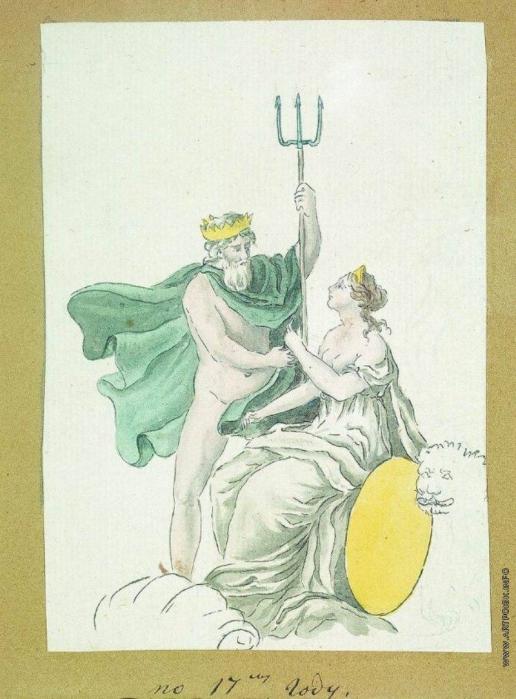 Толстой Ф. П. Нептун