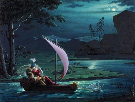 Толстой Ф. П. Рыцарь Лебедя