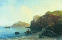 Боголюбов А. П. На берегу моря
