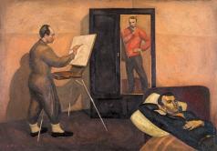 Попков В. Е. Три художника