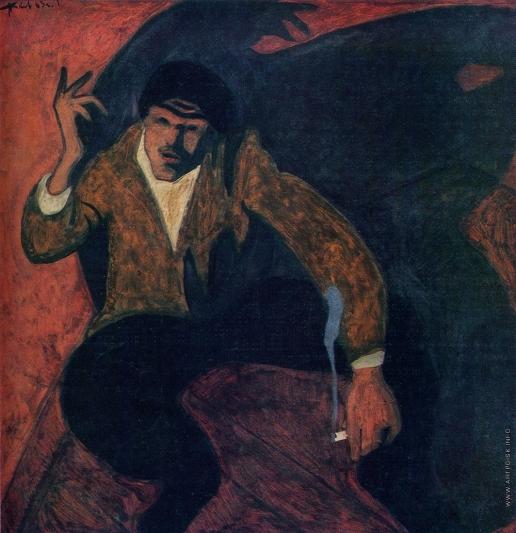 Попков В. Е. Портрет Игумнова