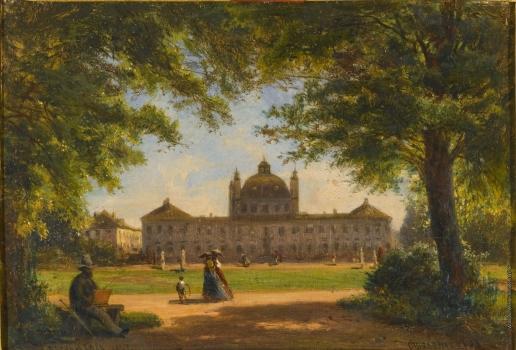 Боголюбов А. П. Вид дворца Фреденсборг