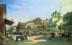 Боголюбов А. П. Нижний Новгород. Нижний базар