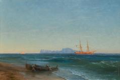 Айвазовский И. К. Вид на Капри