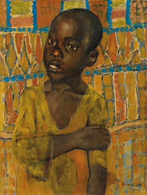 Петров-Водкин К. С. Портрет африканского мальчика