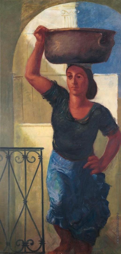 Яковлев А. Е. Женщина с Капри
