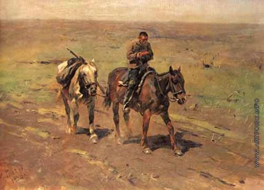 Греков М. Б. В отряд к Будённому