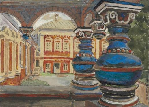 Якунчикова М. В. Царское крыльцо Саввино-Сторожевского монастыря в Звенигороде